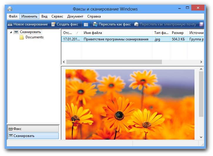 программа факсы и сканирование Windows скачать бесплатно - фото 5